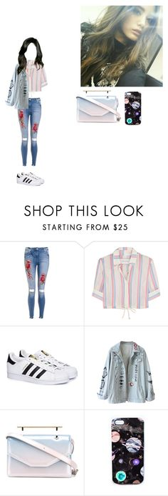 """""""☆Sisters slam dunk audition☆Hana☆"""" by girl-gang-official ❤ liked on Polyvore featuring Solid & Striped, adidas, M2Malletier, Nikki Strange and unnies1"""