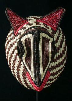 Animal mask  Wounaan-Embera culture, Darien Province, Panama