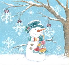 Strokes in the world: Playing with the snowmen / Playing with the snowmen / Playing with snowmen Christmas Clipart, Christmas Snowman, Winter Christmas, Vintage Christmas, Christmas Crafts, Christmas Ornaments, Valentines Illustration, Illustration Noel, Christmas Illustration