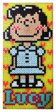 Lucy - Peanuts perler beads by smile (* w *)