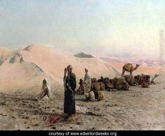 Desert prayer - Edwin Lord Weeks - www.edwinlordweeks.org