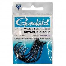 Gamakatsu Octopus Circle Fishing Hooks