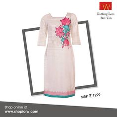 Making you look & feel good this #festive season. Buy this online now : http://shopforw.com/categoryProducts.php?catID=151&maincatName=In%20Stores&smallCat=Kurta