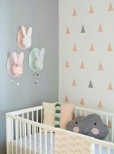 Babykamer inspiratie, prachtige kleuren