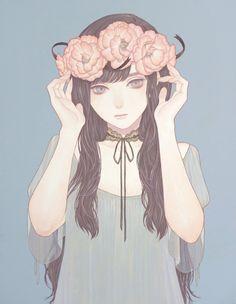 Mayumi Konno pastel wp wallpaper