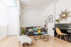 Delon-Seven - Duplex de 64m2 en plein cœur de Montmartre, par Just'n'Nousse Architecture