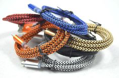 1M 2A Fabric Nylon Braided Charger Cords Usb Cable