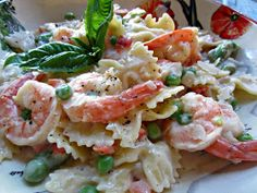 My Kitchen Adventures: Quick and Easy Shrimp and Pasta Primavera