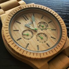 Wewood Kappa Beige Watch - made from real maple - available at www.MouseTheoryShop.com - #wood #watch #wewood #beige