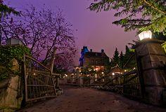 Disney Parks After Dark: Phantom Manor in Disneyland Park at Disneyland Paris