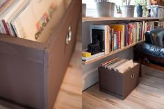 Surplus Style Record Crates | Wood