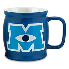 Disney Monsters University Mug | Disney StoreMonsters University Mug - Wake up to a screaming start each day with a hair-raising brew from our jumbo collegiate coffee mug featuring the campus letterman logo. Just remember to wash it before semester break!