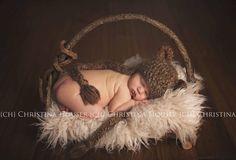 Latte Curly Alpaca Faux Flokati Fur Newborn Photography Prop