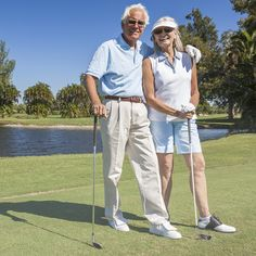 Spend a sunny day on the course at one of the nearby country clubs.