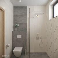 MALÉ KÚPEĽNE - Riešenia & Dizajn / BENEVA Toilet, Bathroom, Bathrooms, Toilets, Bathing, Flush Toilet, Powder Room, Powder Rooms, Bath