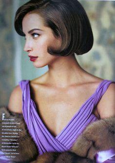 ☆ Christy Turlington:Vogue France  Sept, 1991 ☆