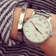 Marc Jacobs watch || Marc Jacobs horloge love this but in gold!
