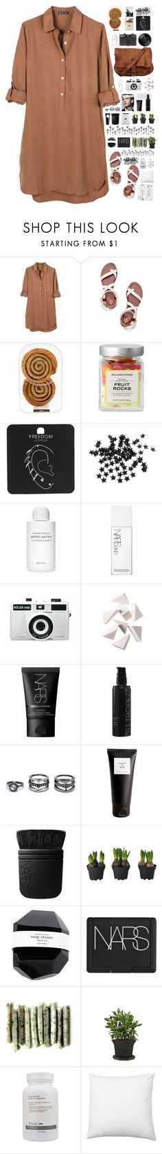 """That makes me..."" by spottdrossel ❤ liked on Polyvore featuring United by Blue, Tory Burch, Topshop, INC International Concepts, Byredo, Holga, NARS Cosmetics, Bobbi Brown Cosmetics, St. Tropez and LULUS"