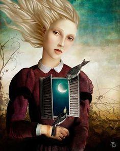 Pop Surrealism, Fantasy Kunst, Fantasy Art, Double Exposition, Illustrator, Art Beat, Wow Art, Magritte, Wassily Kandinsky