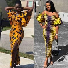 New Ankara Long Gown Styles 2019 Latest Ankara Gown, Ankara Long Gown Styles, Ankara Styles For Women, Ankara Gowns, African Fashion Ankara, Ghanaian Fashion, African Print Dresses, African Dress, African Attire