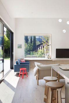 St Kilda East House By Clare Cousins Architect (via Lunchbox Architect)  Fenetre Fixe,