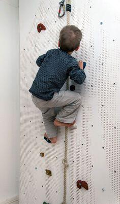parede de escalada