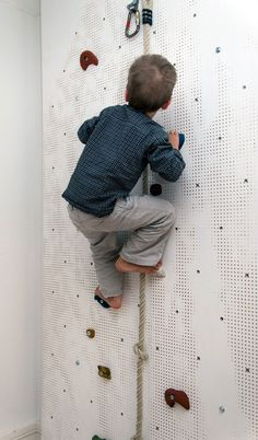 Climbing Wall. Kids will love it!