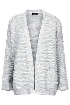boxy fit cardigan / topshop