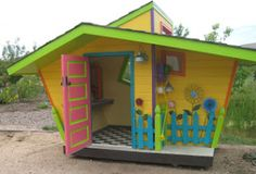 Fun playhouse idea for our Lil' girls