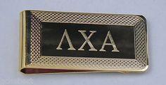 Your Fraternity Greek Letter Money Clip NEW with Velvet Gift Box