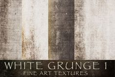 Check out White Grunge 1 Textures by 2 Lil Owls Studio on Creative Market