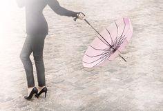 Romantic umbrella by Lisbeth Dahl Copenhagen Spring/Summer 13. #LisbethDahlCph #Romantic #Love #Umbrella #Wedding