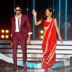 Katrina and Sidharth on Jhalak Dikhla Jaa season 9