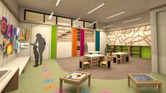 small classroom furniture ideas | School Design With Minimalist Wooden Furniture Classroom Design Idea ...