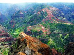 waimea canyon #kauai #hawaii