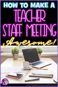 How to deliver a great teacher staff meeting @resourceforce