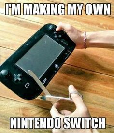When all the Nintendo Switches are sold out....