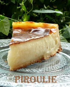 Flan parisien de Christophe Felder: Pâtisseries et Gourmandises - Desert Recipes, Gourmet Recipes, Sweet Recipes, Baking Recipes, Bolo Flan, Flan Cake, Chefs, Food Porn, Christophe Felder