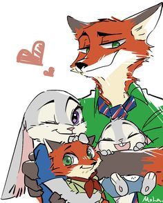 Zootopia - Judy and Nick