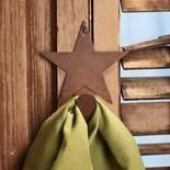 Super cheap home decor.  Halloween items already on sale.  This rustic star is only $0.99!!