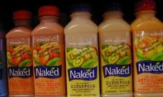 Naked Juices drop 'All Natural' Label because it's.....uh.....not so natural.  And you thought you were eating clean...smh