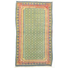 Antique Dhurrie | From a unique collection of antique and modern central asian rugs at http://www.1stdibs.com/furniture/rugs-carpets/central-asian-rugs/