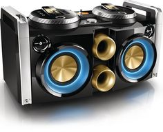 Компактная Hi-Fi аудиосистема с iДоком от Philips (5 фото)
