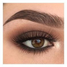 For Brown Eyes - A great eye make-up. This makes the eyes expressive and ensures the perfect look. -Makeup For Brown Eyes - A great eye make-up. This makes the eyes expressive and ensures the perfect look. Eye Makeup Tips, Skin Makeup, Makeup Inspo, Makeup Inspiration, Beauty Makeup, Makeup Hacks, Makeup Ideas, Makeup Tutorials, Makeup Goals