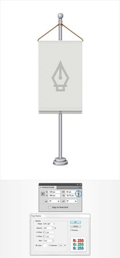 How to Create a Detailed Flag Stand Illustration in Adobe Illustrator - Tuts+ Design & Illustration Tutorial