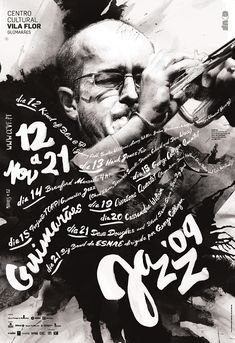 Jazz concert poster graphic #design