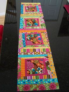 Sew Mod Row quilt challenge- Andrea's Row by buggletquilts, via Flickr