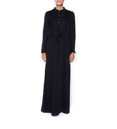 DUSK ABAYA- Finally I have my little black dress too! :)