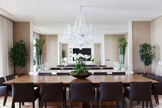 15 Salas de jantar com lustres clássicos - veja ambientes lindos! - Decor Salteado - Blog de Decoração e Arquitetura