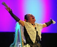The Catalan soprano María Altadill in the opera comics Escarramán